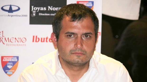 Luciano Nakis, el hijo de Noray Nakis