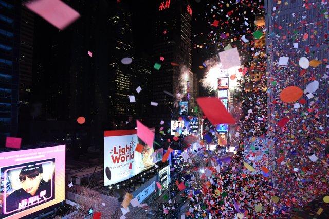 Times Square, Nueva York (REUTERS/Darren Ornitz)