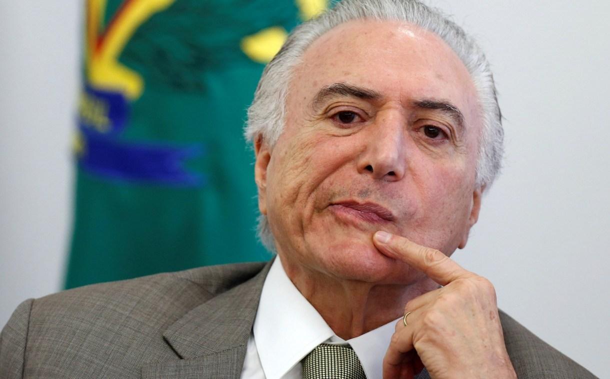 Michel Temer, presidente de Brasil (Reuters)