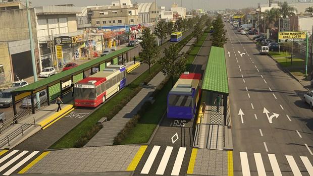 La obra vial incorporará espacios verdes.
