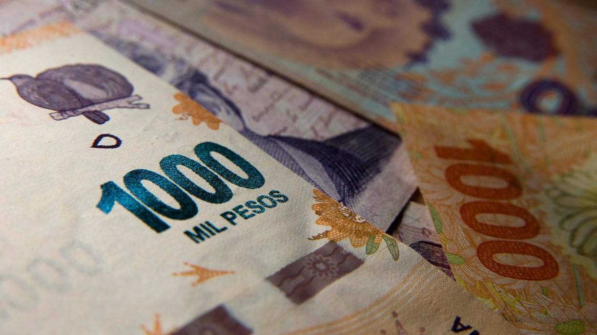 Las transportadoras de caudales y empresas de cobranzas ven pocos billetes de $1.000 (Adrián Escandar)