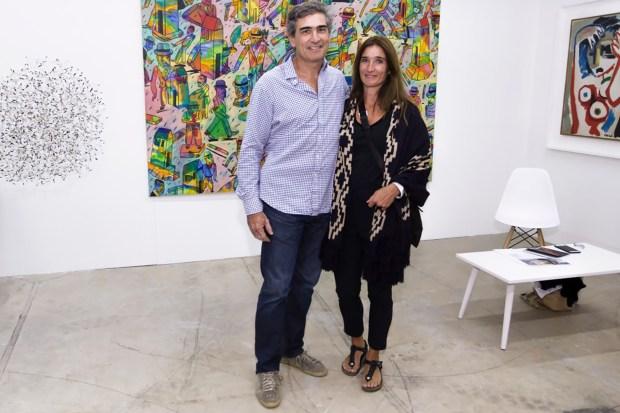 El arquitecto Santiago Álvarez Noblia y su mujer Bárbara
