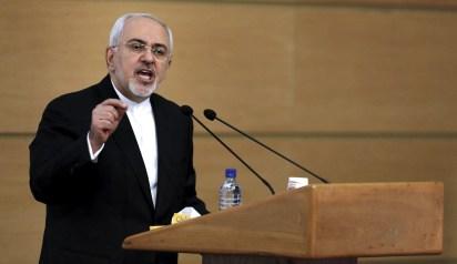 El canciller iraní, Mohammad Javad Zarif