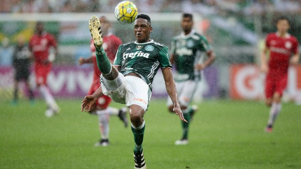 Mina viene de jugar en el Palmeiras de Brasil (Getty Images)