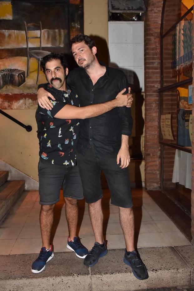 Ezequiel Díaz y Santiago Mitre