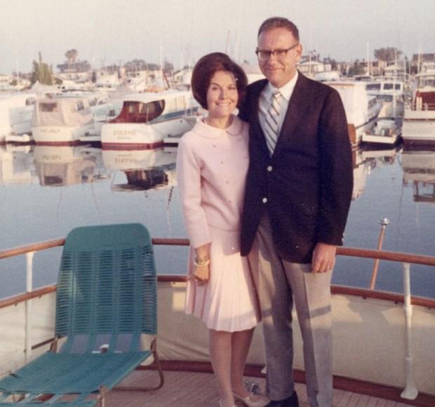 Warren Buffett junto a su ex esposa Susie Thompson
