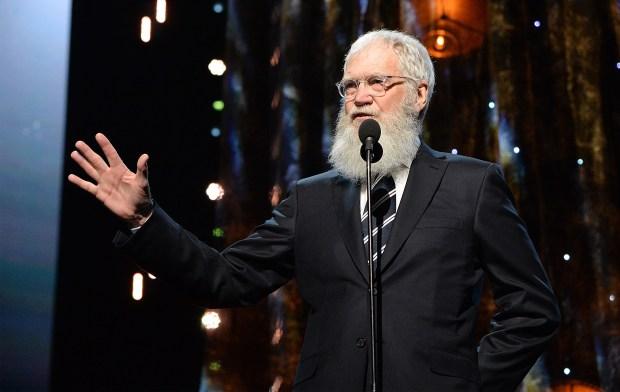 David Michael Letterman, reconocido humorista estadounidense de televisión