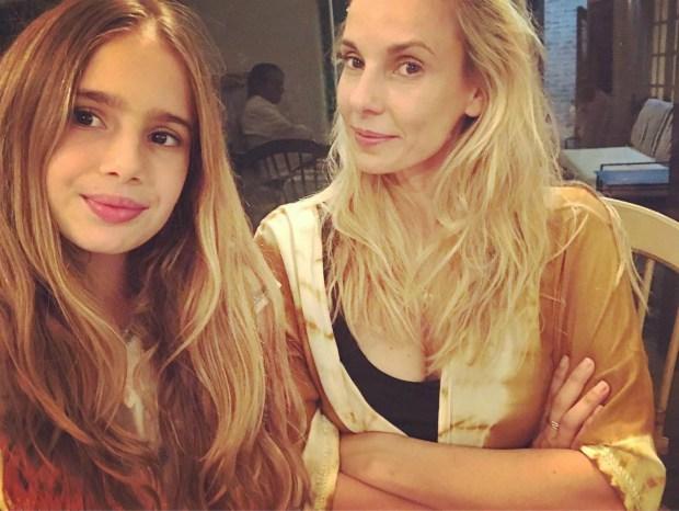 Charo junto a Julieta Cardinali, su mamá.