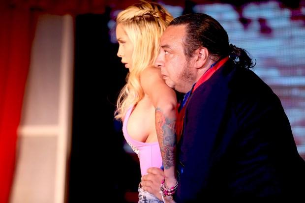 Florencia Pistone y Gabriel Almirón