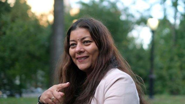Sandra Muller, promotora de la versión francesa del #MeToo (#Balancetonporc)