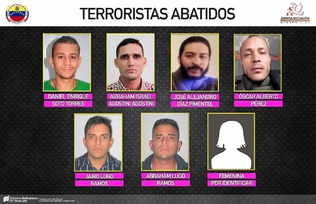 Los rebeldes que fueron asesinados por el régimen de Nicolás Maduro
