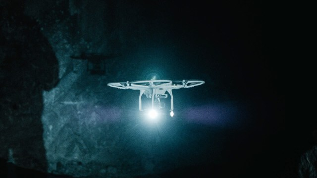 En el área deKankberg la minera sueca emplea drones como parte de su planta laboral (Tomas Westermark/Boliden)