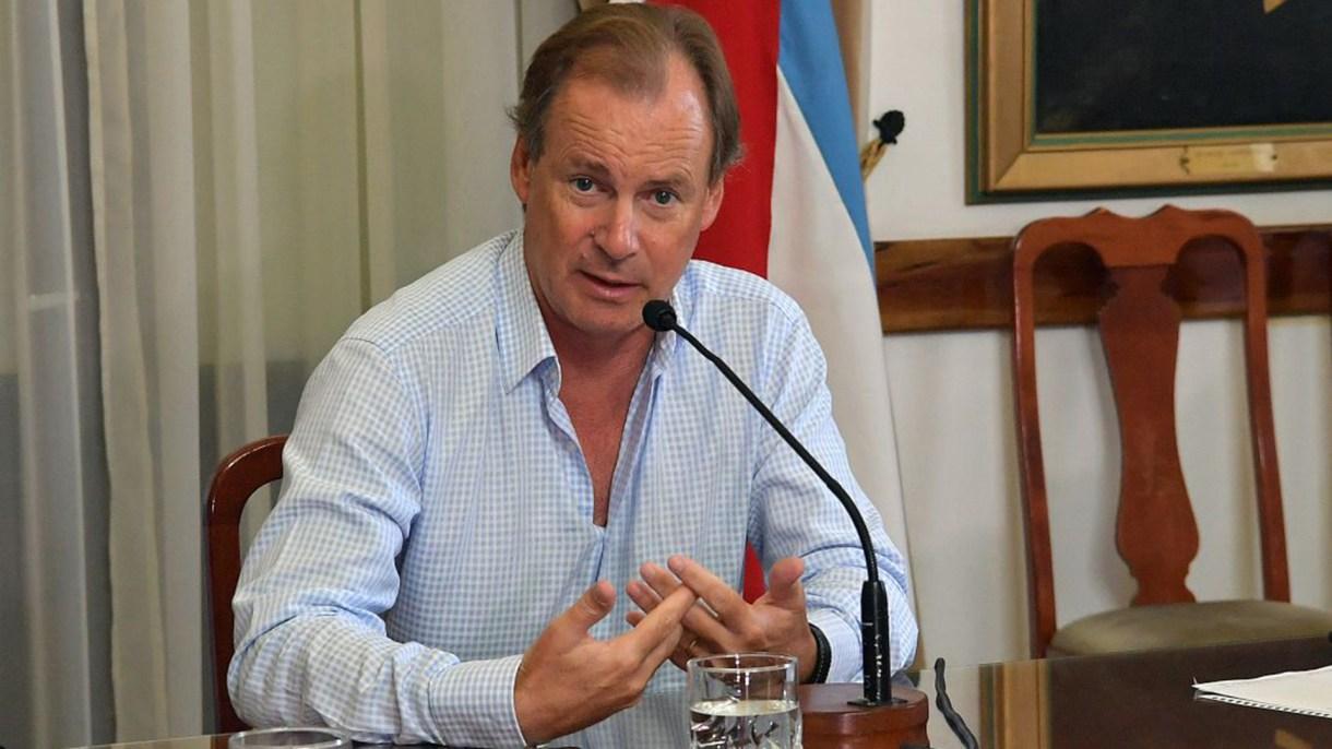 El gobernador de Entre Ríos, Gustavo Bordet