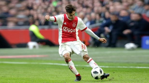Con su juego, enamoró a los fanáticos del Ajax, de Holanda. (Getty)