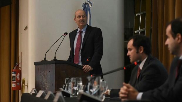 Federico Sturzenegger y su equipo de política monetaria dispusieron la segunda baja consecutiva de las tasas de interés (Nicolás Stulberg)