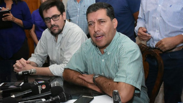 El gobernador de La Rioja, Sergio Casas apartó a toda la cúpula policial