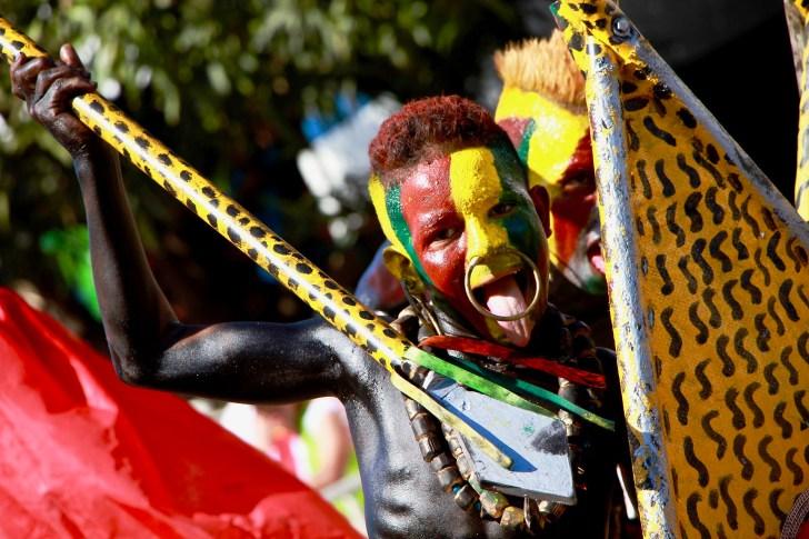 Los niños fueron importantes protagonistas del desfile. Su participación se considera clave para salvaguardar la tradición de la fiesta barranquillera