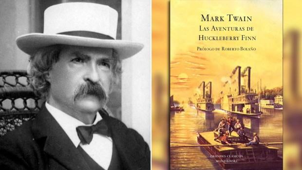 "Samuel Clemens, Mark Twain, y ""Las aventuras de Huckleberry Finn"""