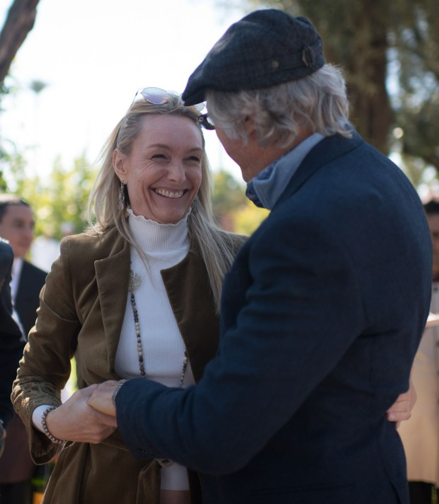 Alejandro Roemmers y Catherine Roemmers