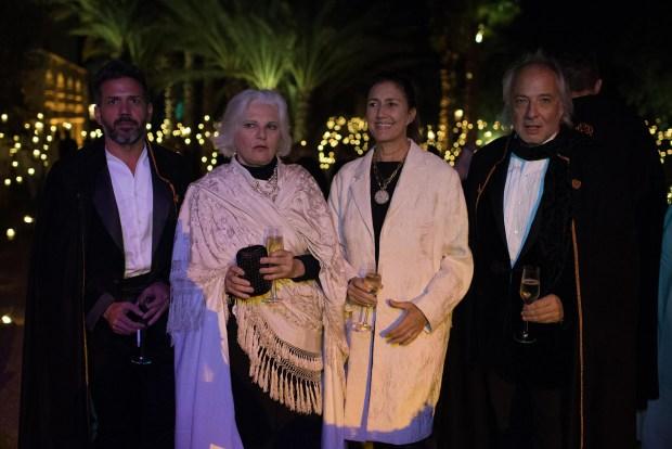 Sebastian Sabas, Gloria Cesar, Laura Orcoyen y Pablo Sánchez Elía
