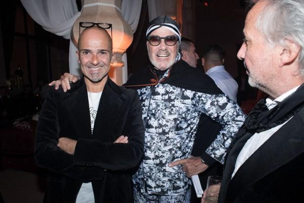 Martin Roig y Gino Bogani