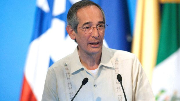 El ex presidente de Guatemala, Álvaro Colom (Reuters/Victor Ruiz Garcia)