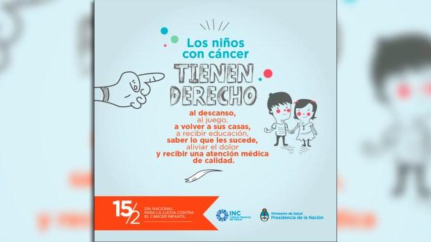 Cada 15 de febrero se conmemora el Día Internacional del Cáncer Infantil