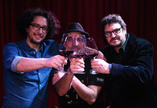 Aldo Graziani, Miguel Rep y Felipe Pigna (Foto: Pablo Astudillo)