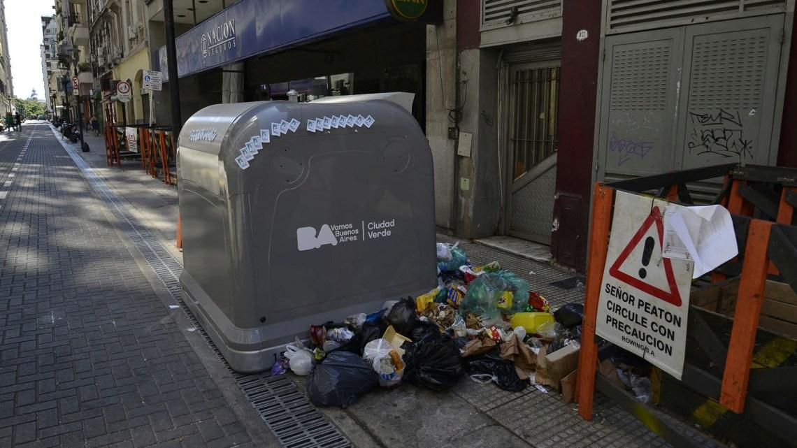El fin de semana hubo problemas con la recolección de basura (Gustavo Gavotti)