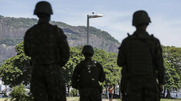El Ejército anunció que incrementará su presencia en Río de Janeiro (EFE)