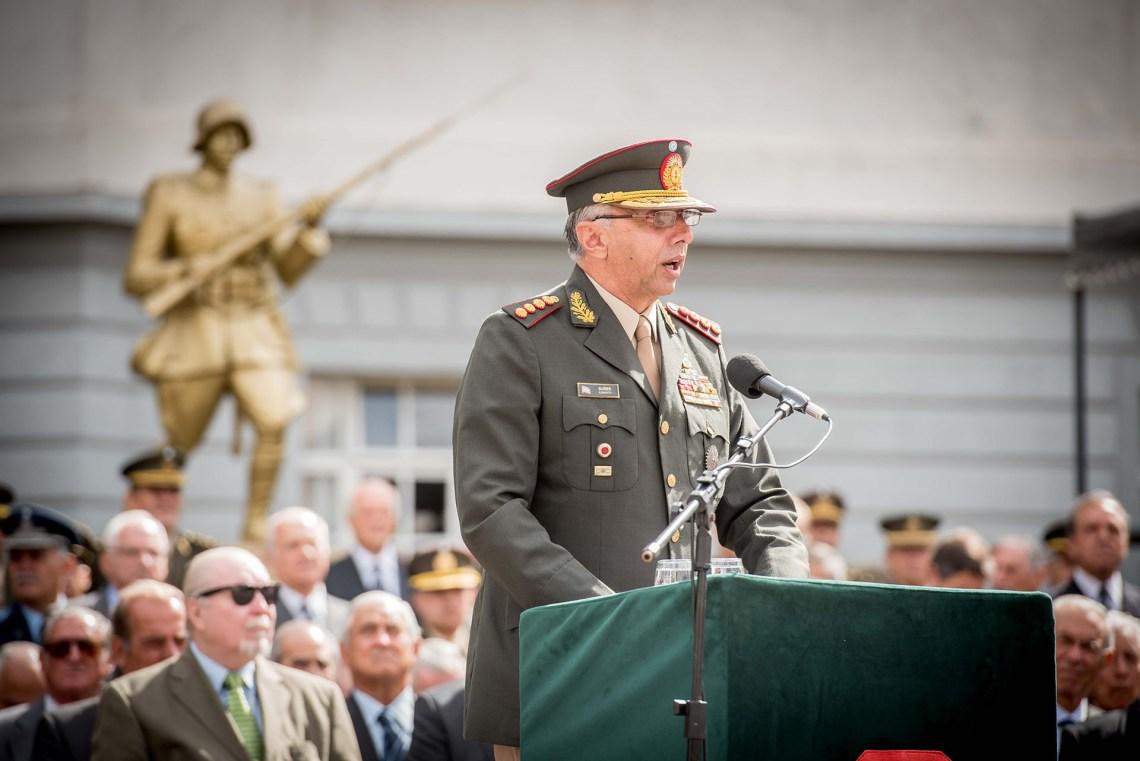 Teniente General Diego Suñer (Fotos: Guillermo Llamos)