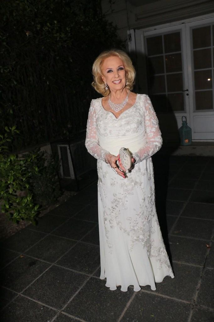 El look de Mirtha Legrand para su cumpleaños número 91
