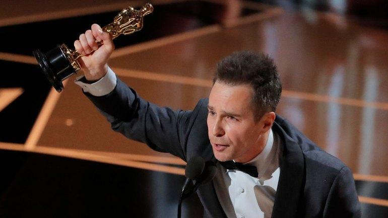 Sam Rockwell, ganador al Mejor Actor de Reparto