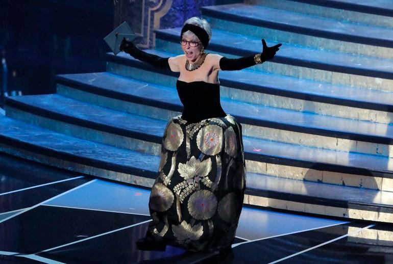 La actriz, cantante y bailarina puertorriqueña Rita Moreno
