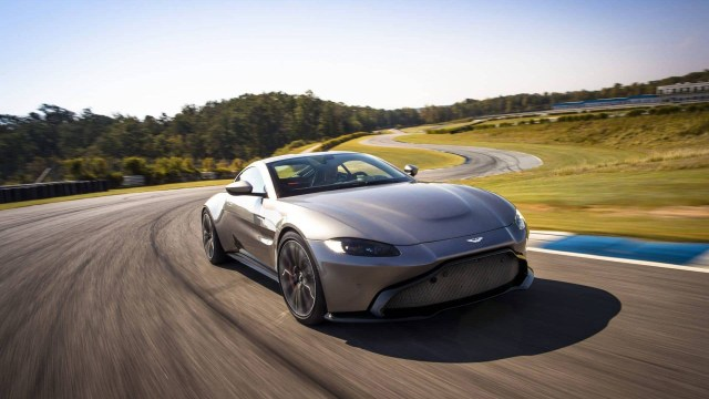 Coche deportivo Aston Martin