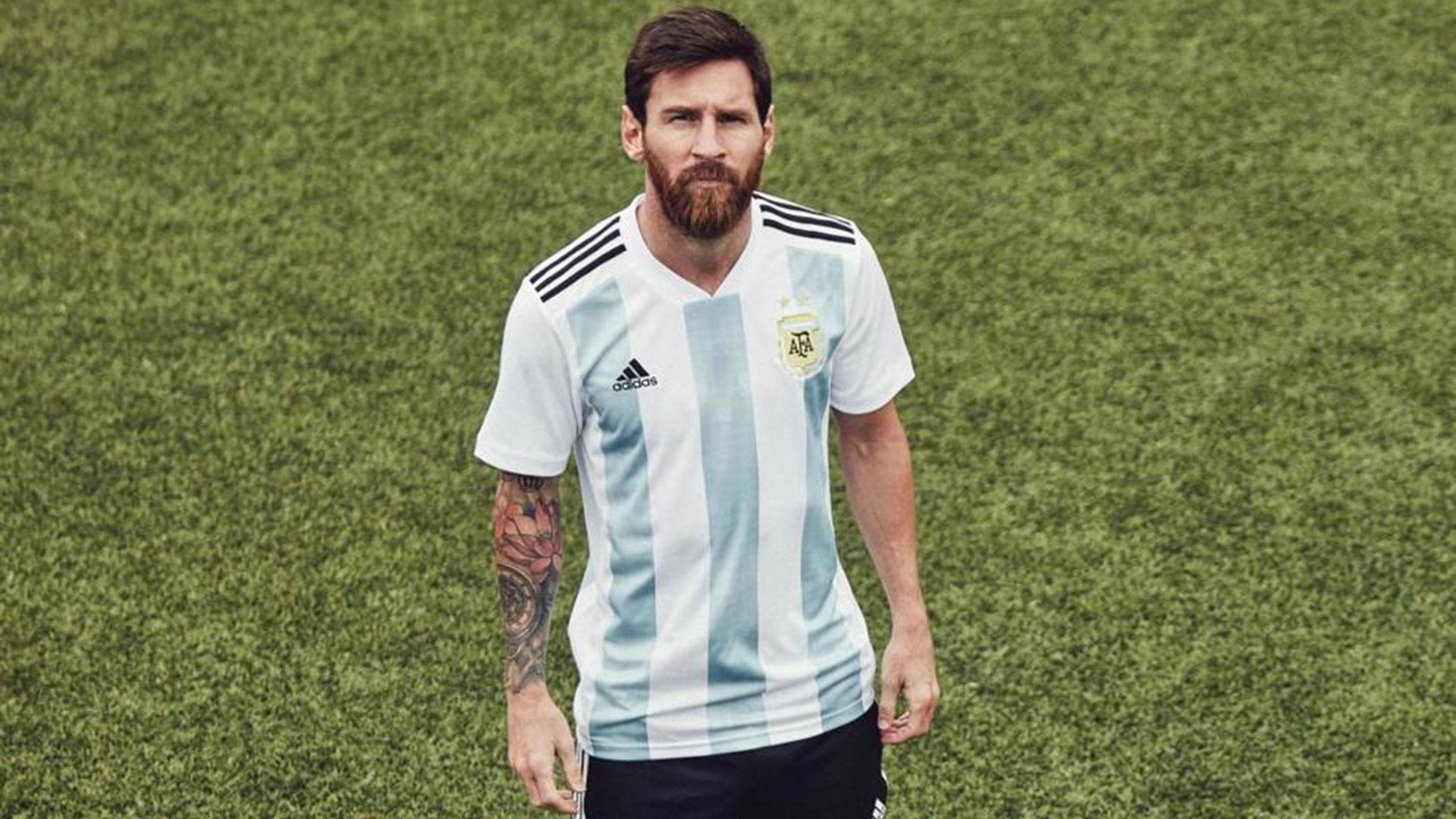 Camisetas mundial rusia 2018 - Argentina