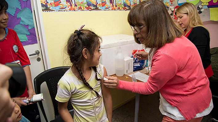 El brote de sarampión afecta mayormente a niños