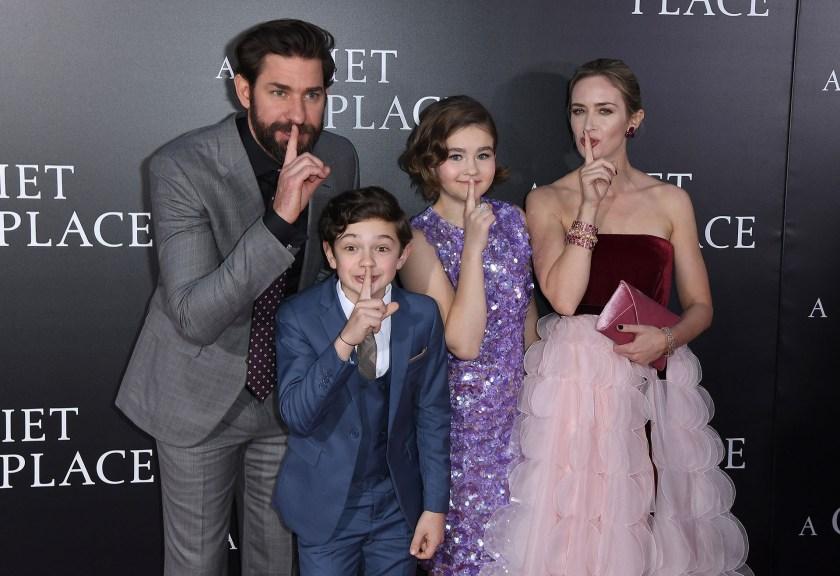 John Krasinski, Noah Jupe, Millicent Simmonds y Emily Blunt, las estrellas del film