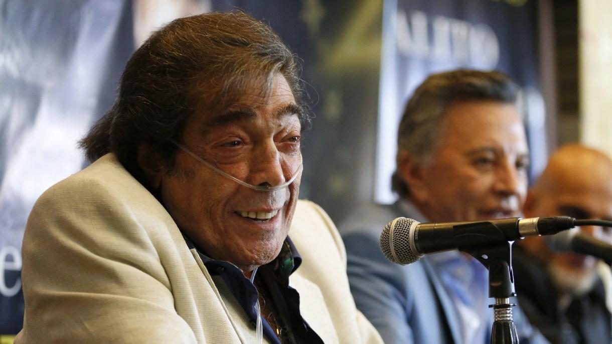Grandes amigos: durante su última intervención, Palito visitó a Cacho todos los días