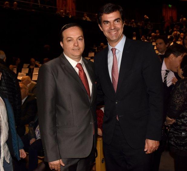 Ariel Cohen Sabban junto al gobernador de Salta, Juan Manuel Urtubey