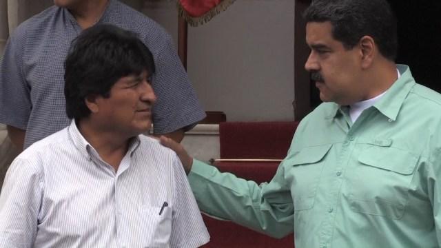 La Bolivia de Evo Morales es uno de los pocos países que mantiene su apoyo al gobierno de Venezuela