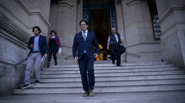 Germán Garavano sale del Palacio de Justicia (Foto de archivo: Gustavo Gavotti)