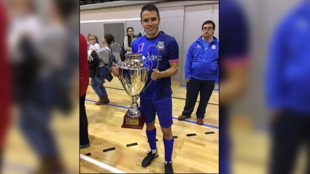 Saviola acaba de consagrarse campeón en futsal en Andorra