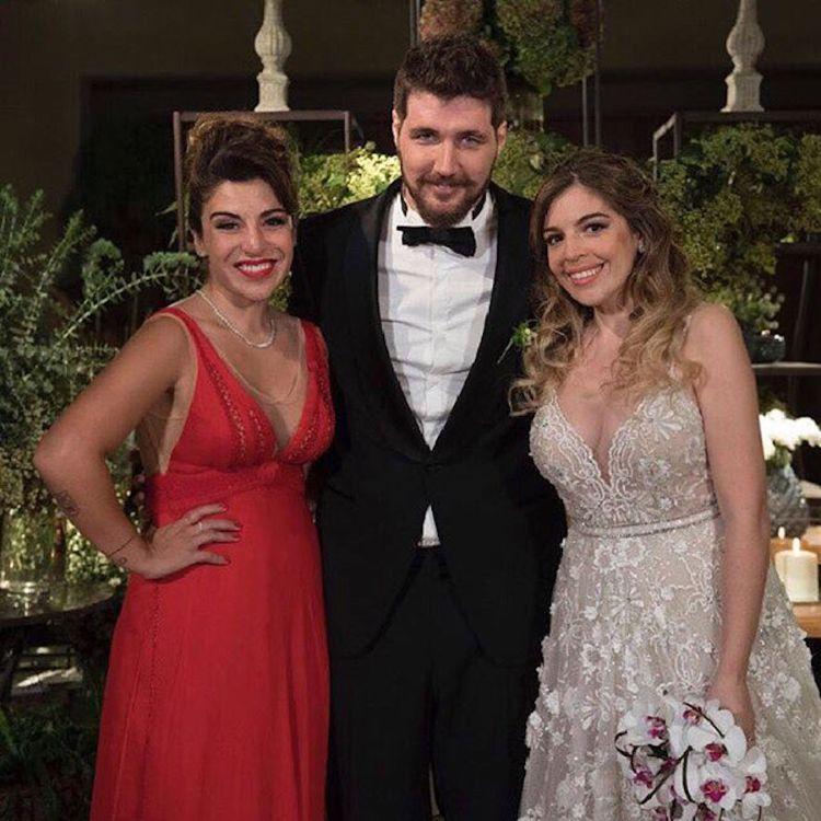 Diego faltó al casamiento de su hija