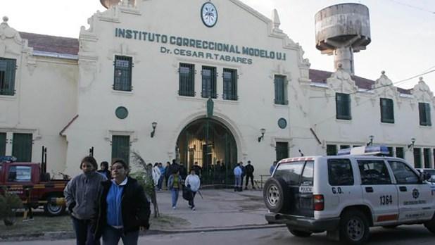El frente de la cárcel de Coronda
