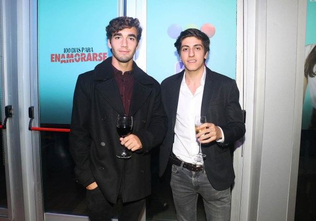 Junior Pisanu y Facundo Calvo