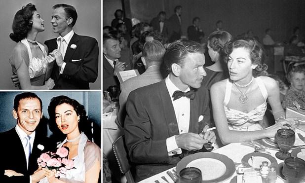 El matrimonio con Frank Sinatra fue pasional y tomentoso