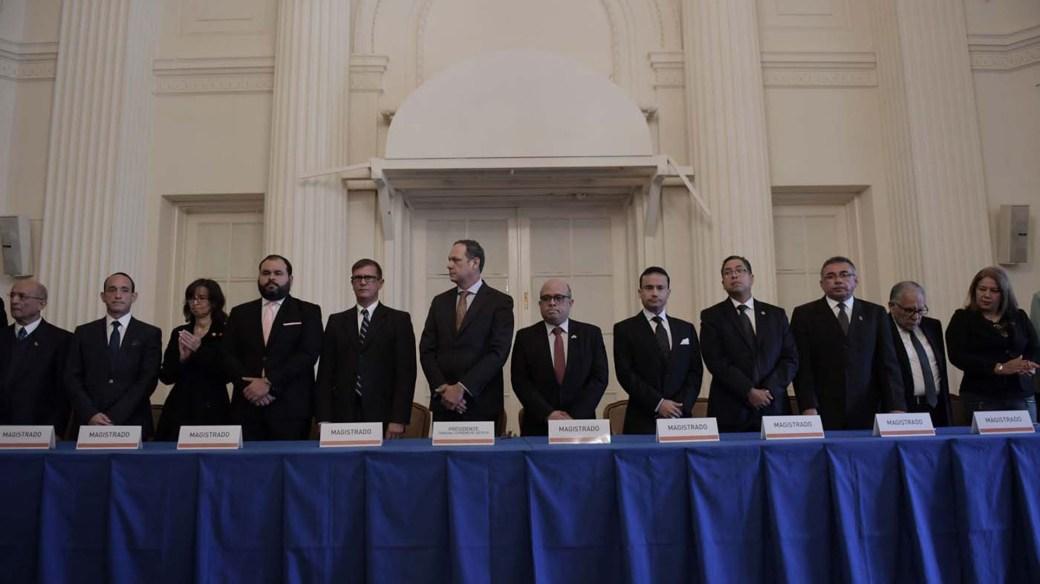 El Tribunal Supremo en el exilio (EFE/ Lenin Nolly)