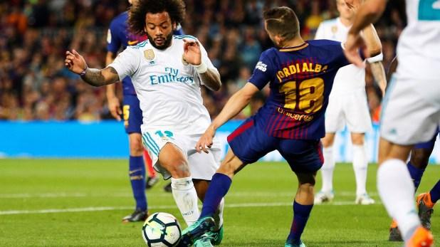 Se paraliza España con otro derby entre Barcelona y Real Madrid (EFE)