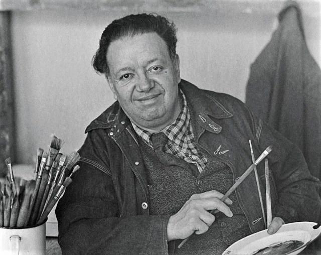 En el reporte del director español aparecía, entre otros, el nombre del pintor mexicano Diego Rivera (Foto: Archivo)